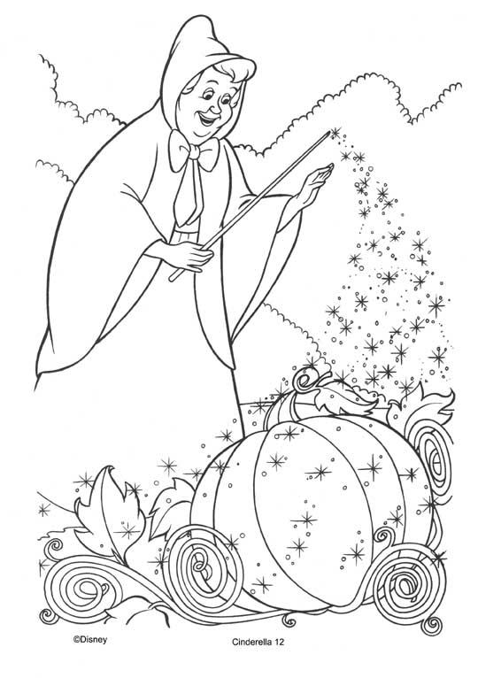 Aschenputtel Malvorlagen - DisneyMalvorlagen.de