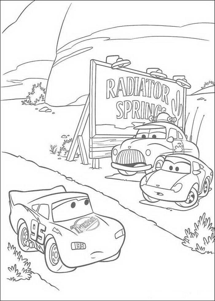 Cars Malvorlagen Disneymalvorlagen De