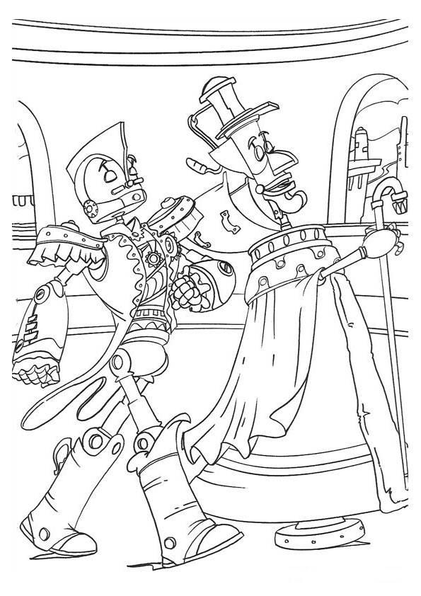 Robots Malvorlagen - DisneyMalvorlagen.de