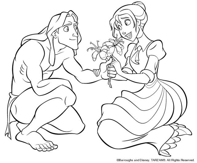 Tarzan Malvorlagen Disneymalvorlagen De